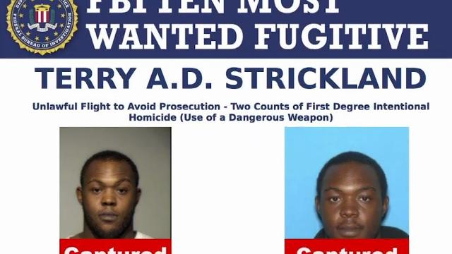 Man on FBI's 10 Most-Wanted List Arrested in TX