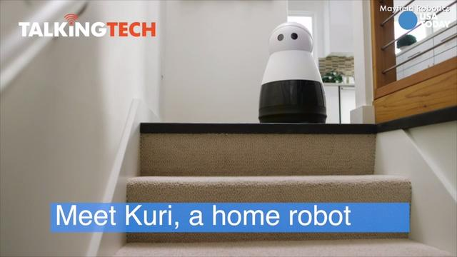 CES 2017- Meet Kuri a new kind of personal robot