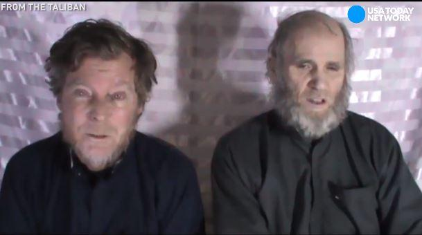 In a newly-released video from the Taliban, an American and an Australian plead for the U.S. government to negotiate their release. Kevin King and Timothy Weekes were abducted outside the American University of Afghanistan in August 2016.