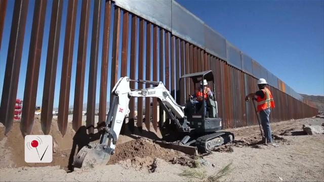 Trump fires back says Mexico will pay for the wall 'later'