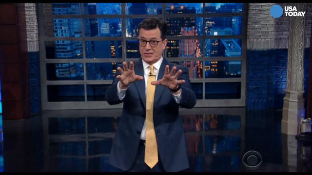 The late-night comics on the inauguration of Trump. Take a look at our favorite jokes, then vote for yours at opinion.usatoday.com.