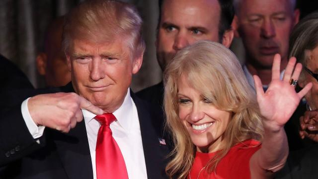 Kellyanne Conway says people didn't care about Donald Trump's tax returns. They do.
