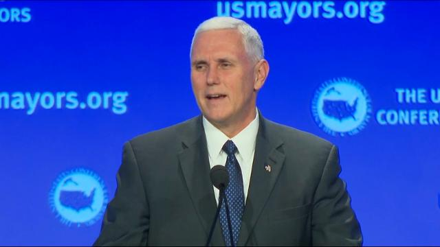 Vice President-elect Mike Pence says he's still getting used to his new job with the incoming Trump administration, but called it the 'greatest honor of his life.' (Jan. 17)