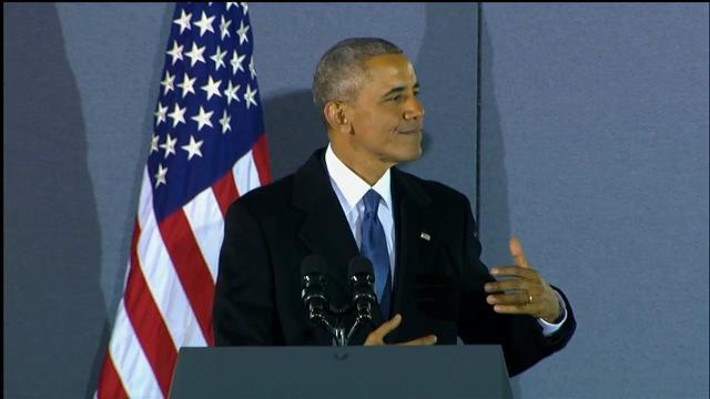 Obama Says Backers 'Proved the Power of Hope'