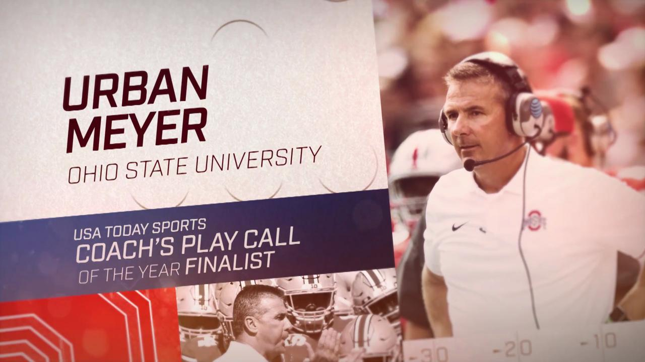 These five coaches' in-game calls are up for USA TODAY Sports' best play call of the year award.