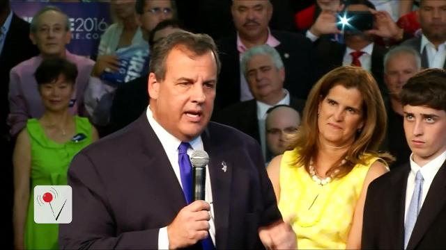 "Chris Christie says he didn't take a position in the Trump administration because he wasn't offered a sufficiently ""exciting"" position, and because his wife would not move to D.C."