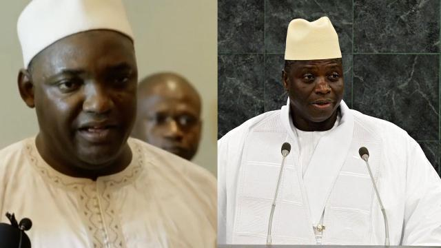 The transfer of power to Gambia's president-elect isn't going well