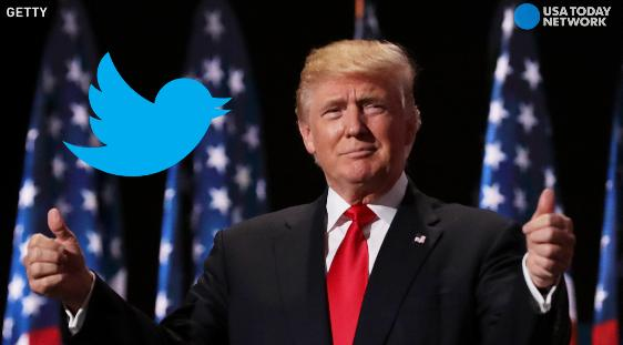 President Trump's Twitter moment is filled with positive tweets about his inauguration day from both of his accounts and ones belonging to several family members.