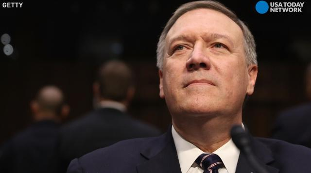 Rep. Mike Pompeo, President Trump's pick for director of the CIA, was confirmed with a vote of 66-32 by the Senate. Pompeo will give up his congressional spot to lead the CIA.