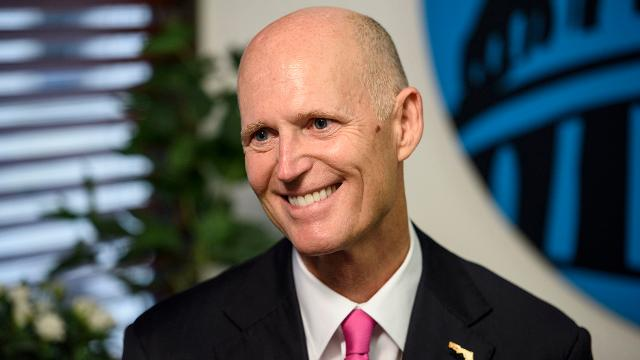 Scott says Trump's approval rating will change with results