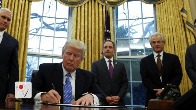 President Trump signed multiple executive orders Monday. Veuer's Nick Cardona tells us what those orders are.