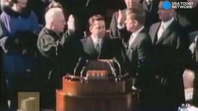60 years of inaugurations in 60 seconds