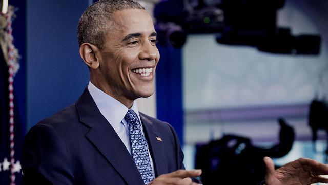 President Barack Obama said Wednesday that he is proudest of his daughters for refraining from feeling cynical in the wake of the presidential election.