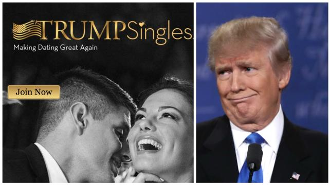 A Southern California man created a dating site aimed at Donald Trump supporters. Video provided by Newsy