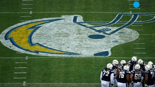 Chargers owner Dean Spanos tells NFL he plans to move team to Los Angeles