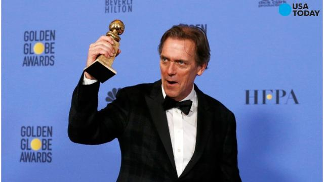 There are a few things a memorable Golden Globes acceptance speech needs but at the top of the list this year is a Donald Trump burn. Hugh Laurie spoke his mind about the president-elect for the majority of his speech.