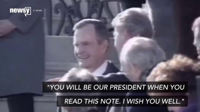 George H.W. Bush showed how to graciously concede the presidency