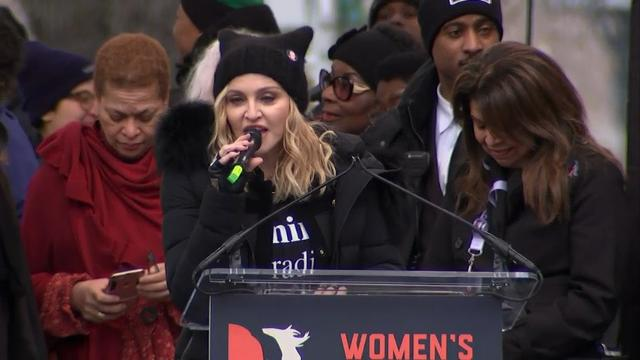 Madonna: 'Thought About Blowing up White House'