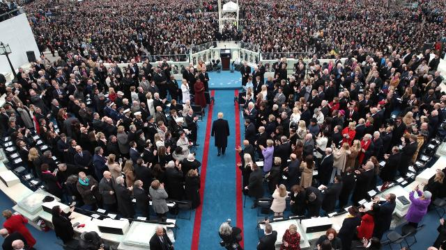 Almost 31 million people watched Donald Trump's inauguration from home, making it the fifth most watched inauguration since 1969. Video provided by Newsy
