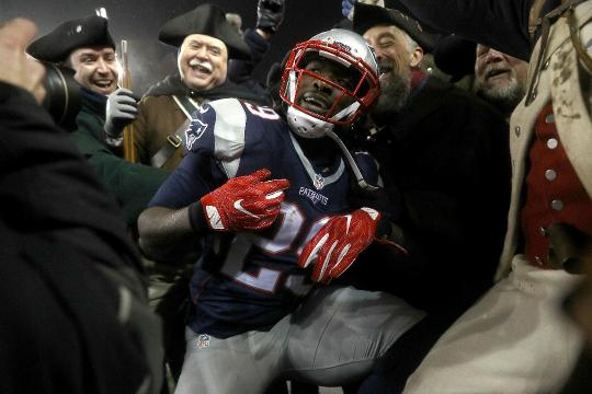 The New England Patriots dispatched the Pittsburgh Steelers in the AFC Championship game en route to a 9th Super Bowl berth.