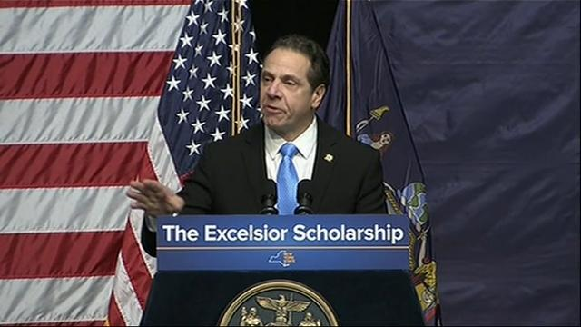Gov. Cuomo to propose plan offering free college tuition