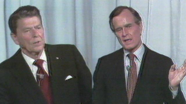 George H. W. Bush and Ronald Reagan Debate On Immigration In 1980