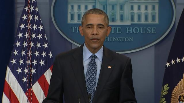 In his final news conference President Barack Obama wished former President George H.W. Bush and Barbara Bush well after news that both were hospitalized. Obama also touted the need for a free press. (Jan. 18)
