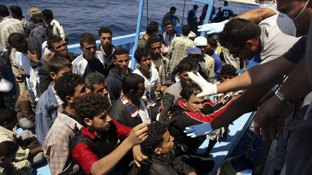 An estimated 364,000 migrants reached Europe by two main sea routes last year. More than a million made the same journey in 2015. Video provided by Newsy
