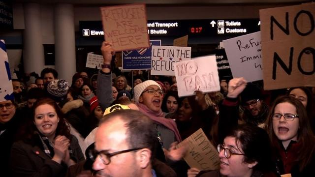 Donald Trump immigration ban loses first legal battle