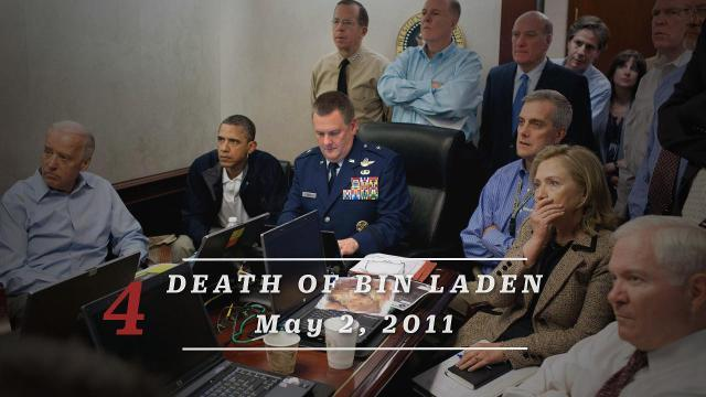 10 days that define the Obama presidency: The Death of Bin Laden