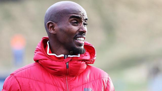 Olympic runner Mo Farah says President Trump's restrictive immigration plan has made him an outsider in America.