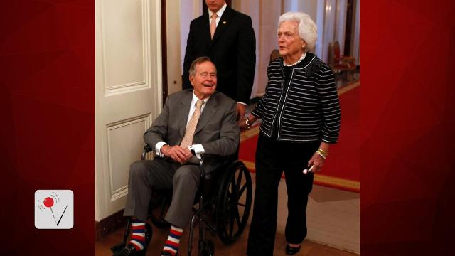 Former President George H.W. Bush is moving out of the ICU. Veuer's Nick Cardona has the latest on the former President and former First Lady Barbara Bush.