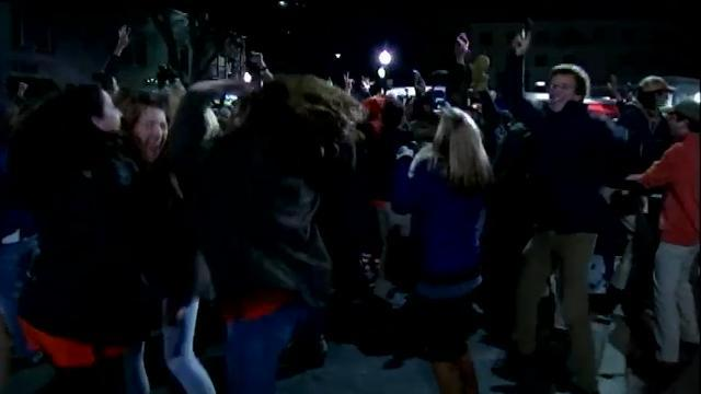 Raw: Clemson Celebrates College Football Title