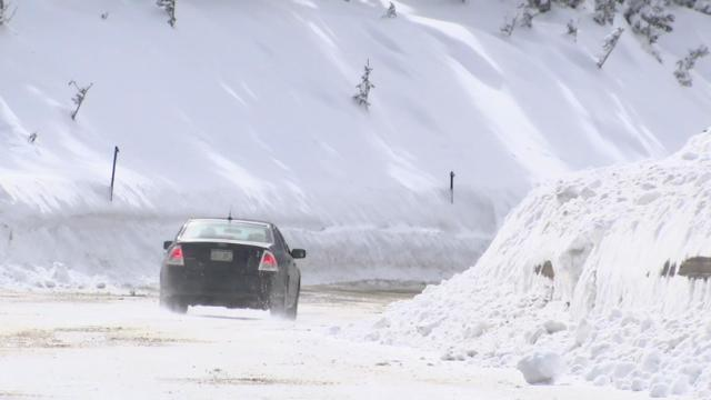 Too Much Snow: Avalanche Threat Stops Skiers