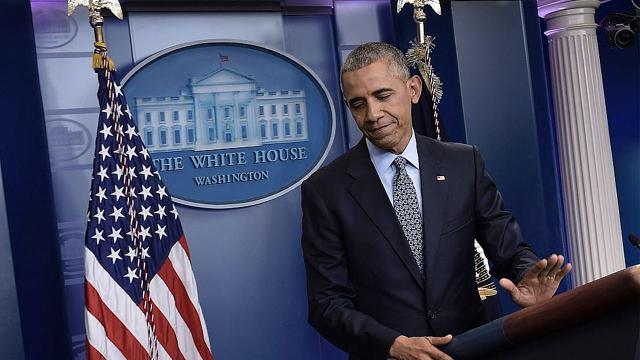 President Obama ended his final press conference as he started his campaign for the White House nearly 10 years ago: optimistic and full of hope.