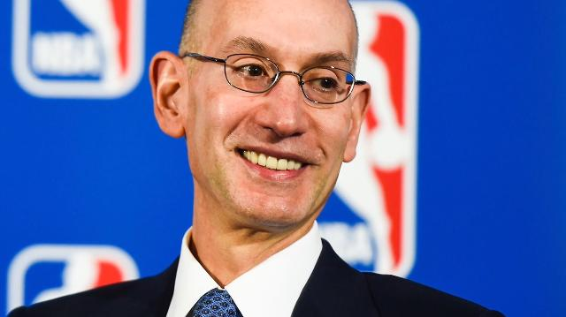 USA TODAY Sports' Larry Berger speaks with NBA Commissioner Adam Silver about the state of the league.