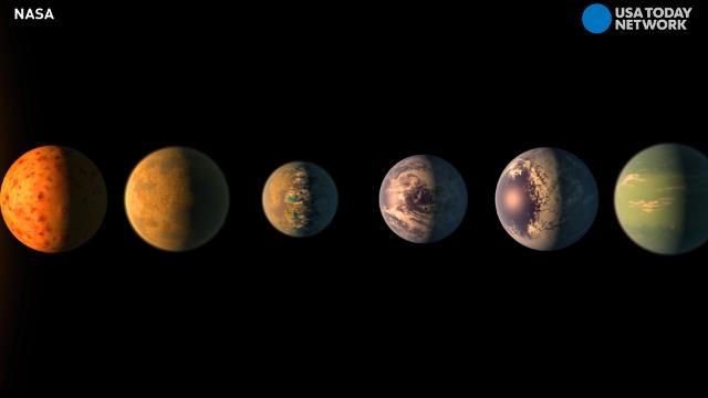Twitterverse comes up with 7 names for 7 new planets