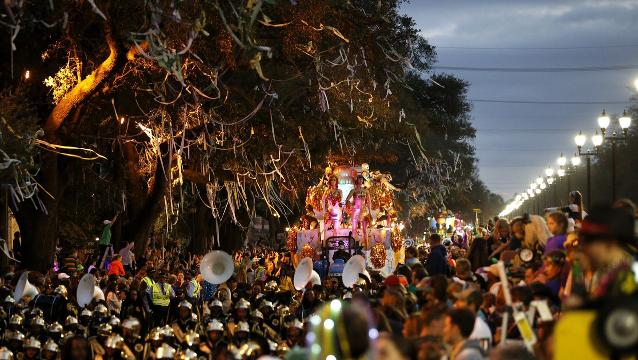 Good Times Roll At Mardi Gras Bacchus Parade