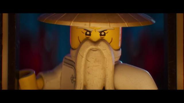 The trailer for the animated comedy 'The Lego Ninjago Movie' featuring the voices of Dave Franco, Justin Theroux and Jackie Chan.