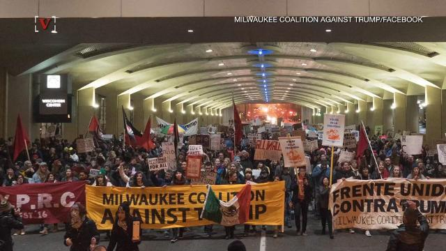 'Not my Presidents' Day' protests expect thousands across America
