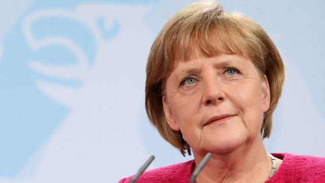 German Chancellor Angela Merkel said her country will do more to meet NATO expectations for defense spending. Video provided by Newsy