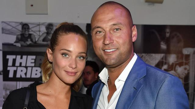 Congratulations are in order for Derek Jeter and wife Hannah Davis Jeter!