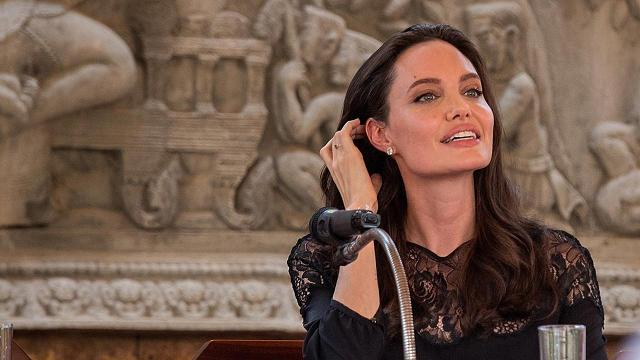 Jolie was joined by her at the world premiere of her passion project, First They Killed My Father in Siem Reap, Cambodia