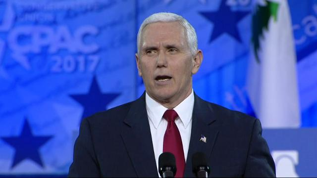 Vice President Mike Pence says the United States has what could be a once-in-a-lifetime opportunity to install conservative solutions to the nation's problems. (Feb. 23)
