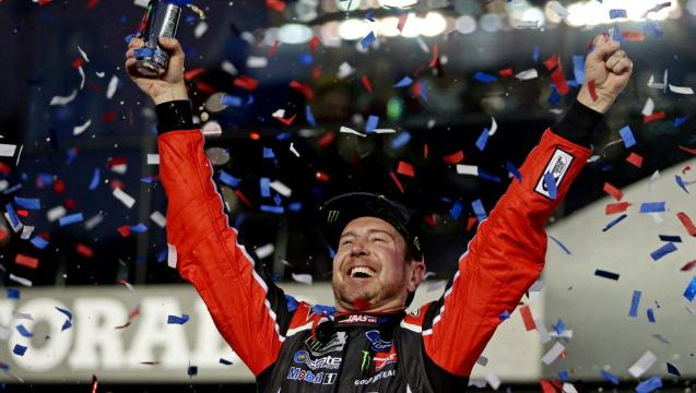 Kurt Busch wins first Daytona 500