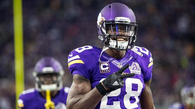 The Minnesota Vikings will not exercise Peterson's 2017 option.