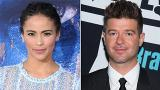 Cops called as Paula Patton and Robin Thicke met to exchange son