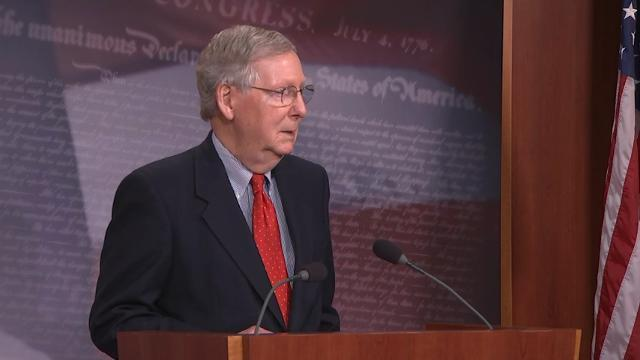 McConnell: Not A Fan Of Trump's Daily Tweets