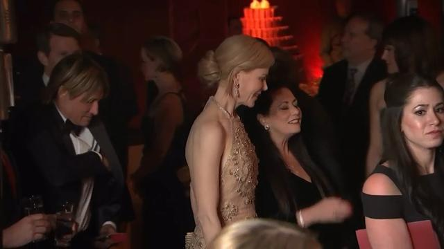 Stone, Kidman, Theron arrive at Governors Ball