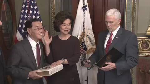 Mitch McConnell campaign is unapologetic about Kentuckians' access to Elaine Chao